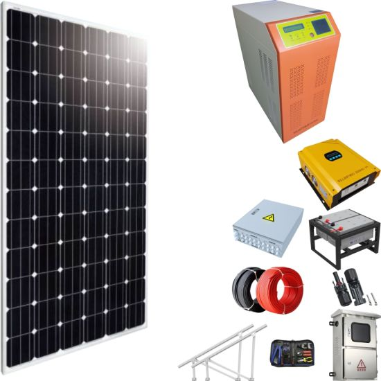 Solar Power Air Conditioning System Price 3000W