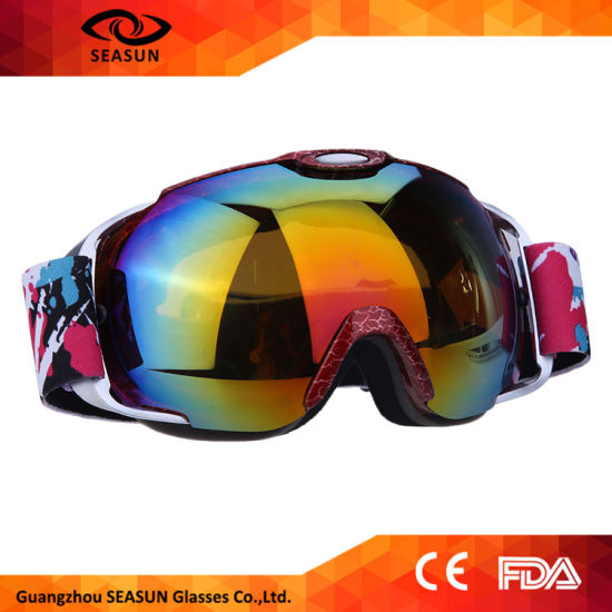 d0abd1df69 China Frameless Anti-Fog Lens Ski Goggles