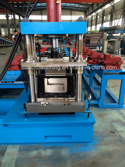 Heavy Duty Z Purlin Steel House Roll Forming Machine pictures & photos