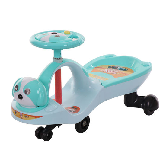 Plastic Kids Ride on Swing Car for Children with Music pictures & photos