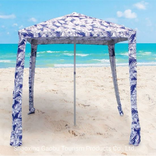 Beach Cabana Square Umbrella