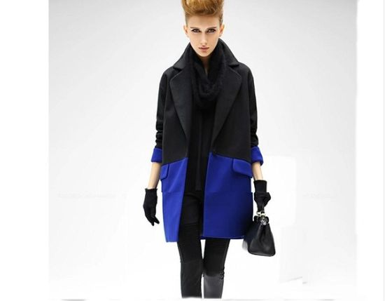 Chic Women′s Winter Single Breasted Ladies Overcoat pictures & photos