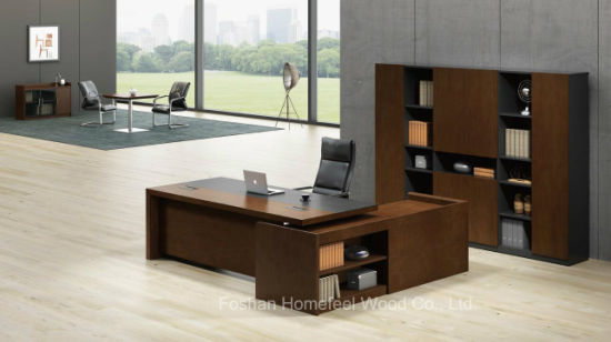 Hot Selling Boss Task Wooden Executive Office Desk (HF-168D28) pictures & photos