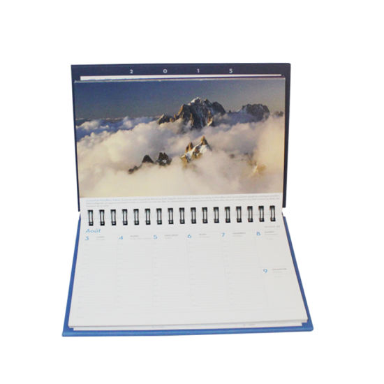 High Quality Paper Diary Spiral Notebook pictures & photos