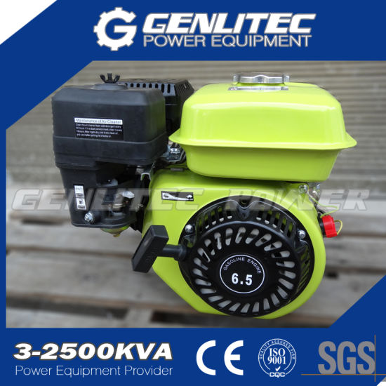 6.5HP Gasoline/Petrol Engine/Motor with 1/2 Reduction Box/Clutch pictures & photos