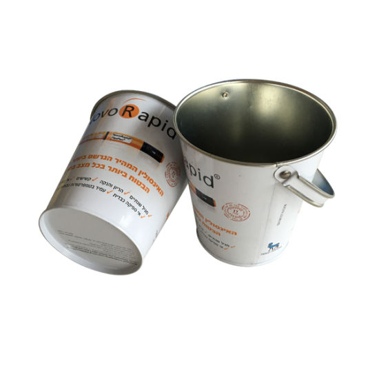 Handle Metal Tin Bucket Metal Gift Tin Container Wholesale pictures & photos
