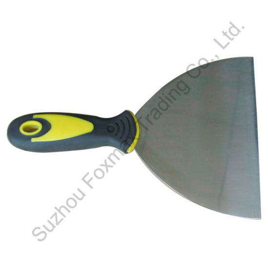 Putty Knife/Scraper with TPR Handle (FPK03) pictures & photos