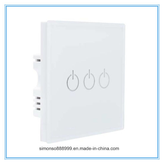 Voice Control WiFi/Bluetooth Touch Switch pictures & photos