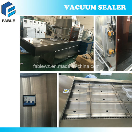 Food Tray Automatic Sealing Machine with Map Function (FBP-700) pictures & photos
