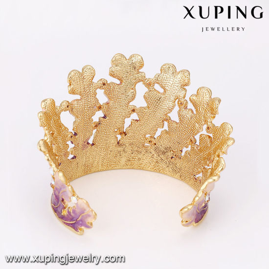 Bangle-216 Fashion New Arrival Indian Style Xuping Painting 24k Gold Bangle pictures & photos