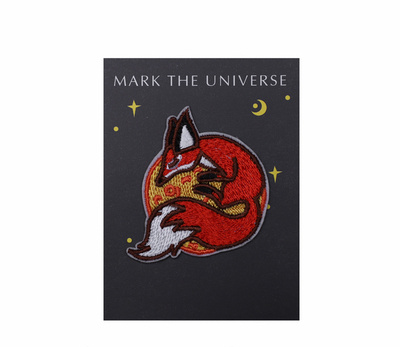 Wholesale Custom Japanese Style Fox Embroidery Patch for Toys and Clothing, etc
