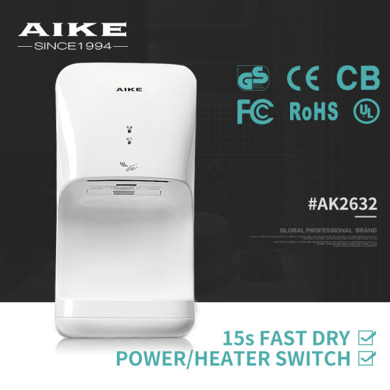 AK2632 Hotel Bathroom Appliances Automatic High Speed Air Hand Dryer pictures & photos