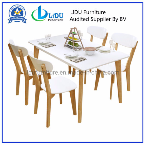 Dining Room Set/ Modern Solid Wood Extendable Dining Table Fashion