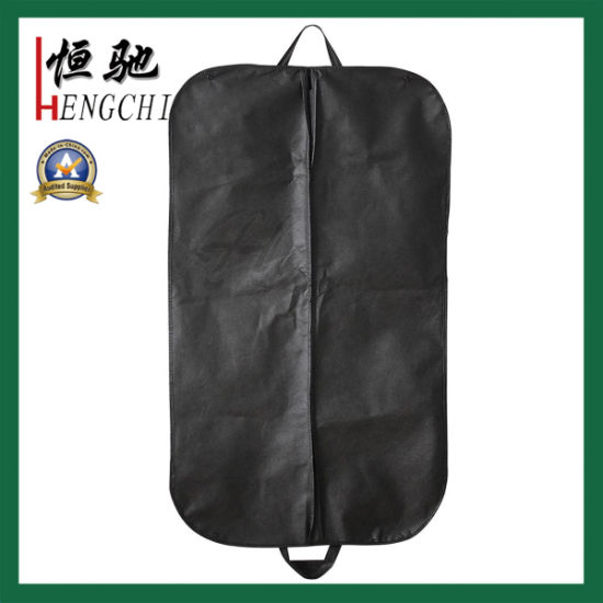 Household Storage Non Woven Suit Bag with Two Handles