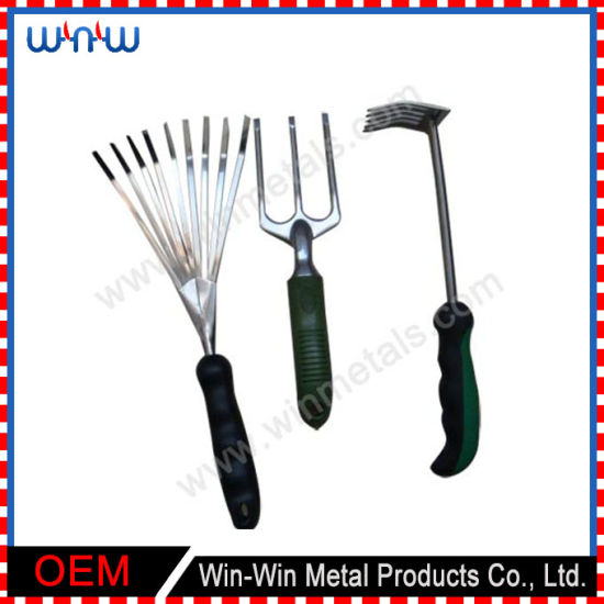 Handy Hand Gardening Product Custom Stainless Steel Garden Tools