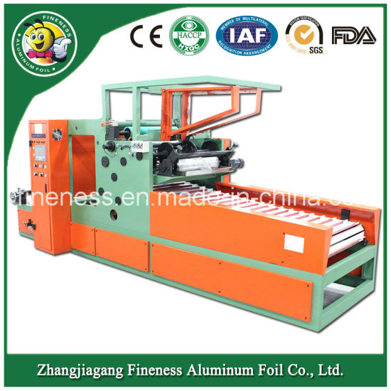 Automatic Machine for Aluminium Foil Cutting and Making pictures & photos