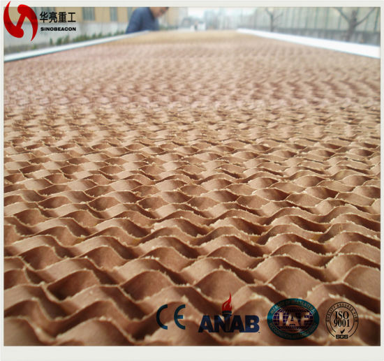 Evaporative Cooling Pad for Poultry House