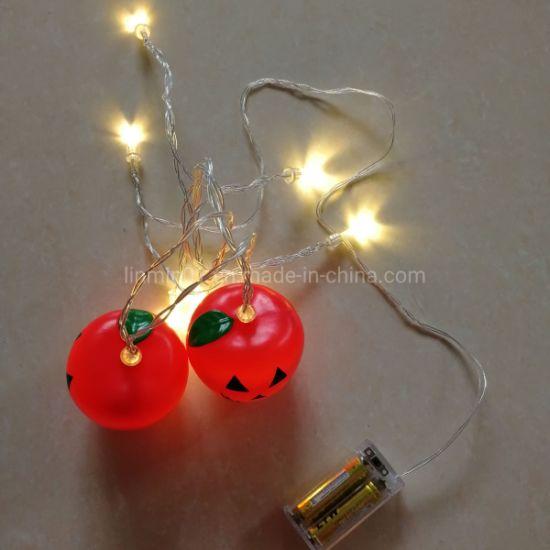 Custom Plastic Apple LED String Light with Printing