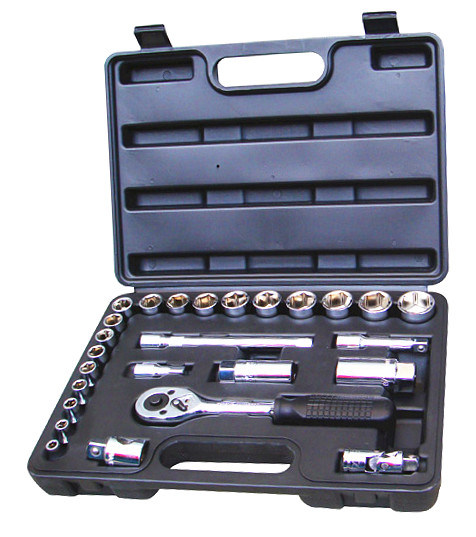 "26PCS 1/2""Dr Professional Socket Set in Blowing Mold Case (FY1026B)"