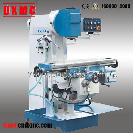 China Knee Type Milling Machine X5036A with Ce pictures & photos