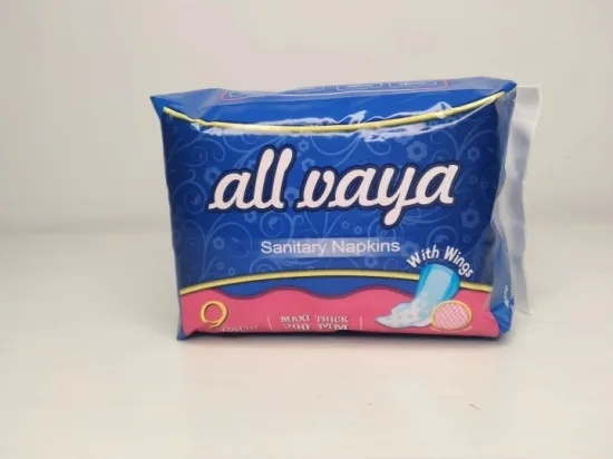 Cheap High Quality Normal Ultra Thin Anion Sanitary Napkins Pads with Wings Wholesale Femal Cotton Sanitary Pads