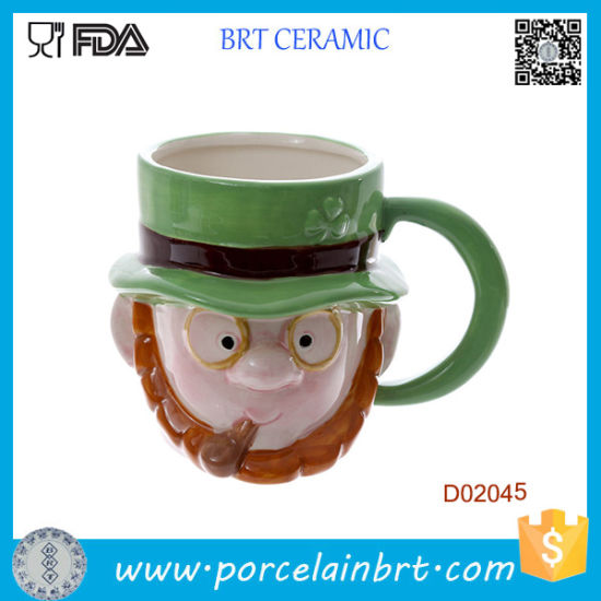 Novelty Ceramic Monster Head Ceramic Mug Halloween Gift pictures & photos