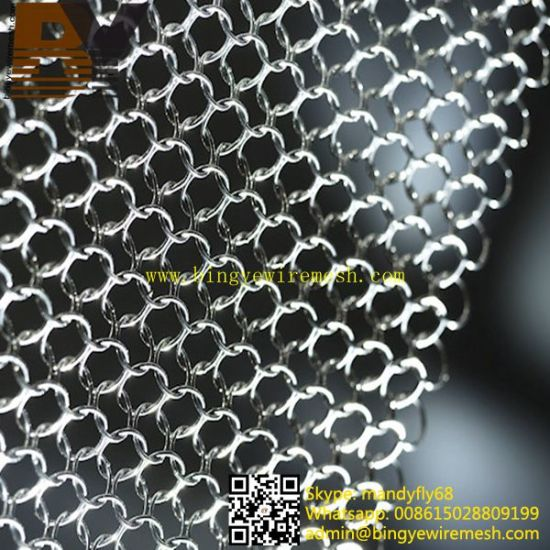Stainless Steel Ring Metal Mesh Curtains pictures & photos
