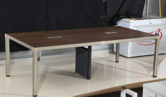 New Aluminum Square Leg Executive Office Desk Made In China