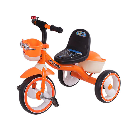9e4dcad2e28 Three Wheeler Kids Bicycle Toys Metal Children Tricycle with Light pictures  & photos