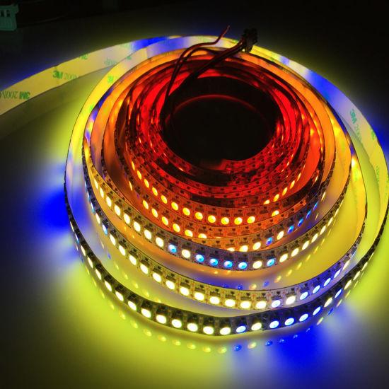 Programmable Muti Color LED Light DMX RGB LED Strip 5050