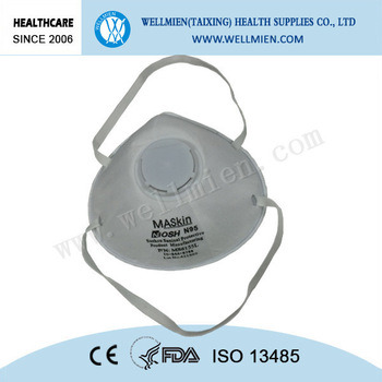 Chemical Niosh Approved Respirator Dust Mask N95 pictures & photos