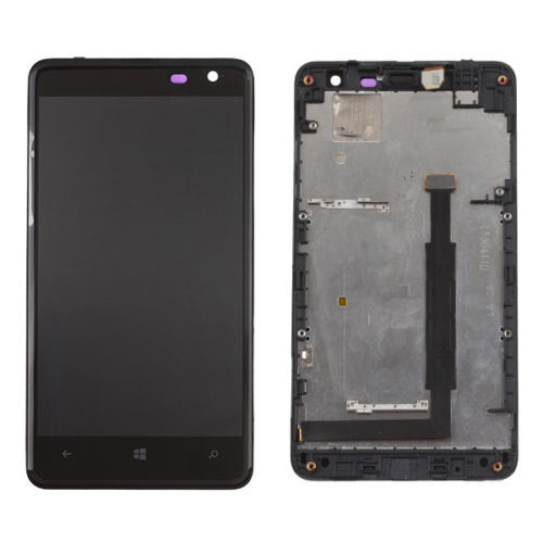 LCD Screen Digitizer Assembly for Nokia Lumia 625 with Front Housing pictures & photos