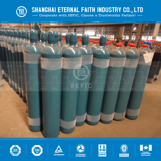 Seamless Steel High Pressure Hydrogen Gas Cylinder (GB5099/EN ISO9809-1) pictures & photos