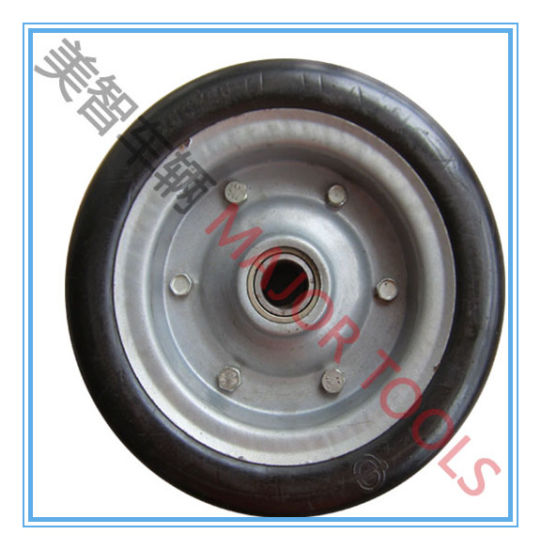 10X4 Solid Rubber Wheel with High Load Capacity pictures & photos