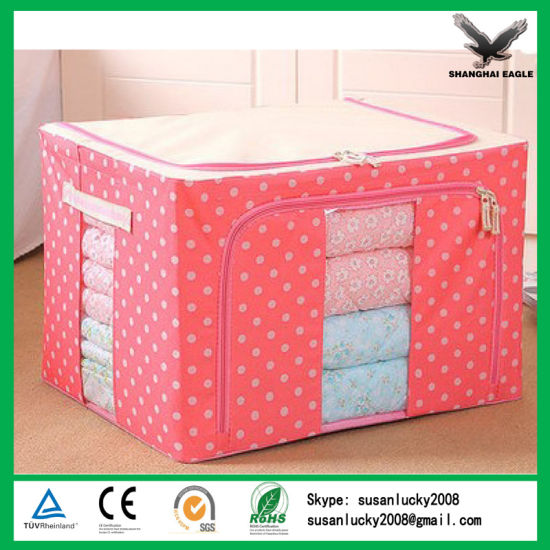 Folding Bedroom Waterproof Portable Clothes Organizer pictures & photos