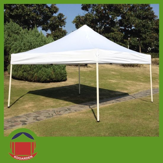 [Hot Item] Cheap Good Quality White Folding Tent Steel Frame Yurt Tent