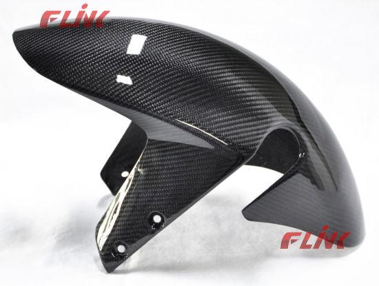 China Motorycycle Carbon Fiber Parts Front Fender for Suzuki