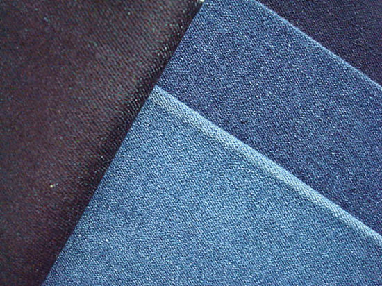 Rayon Viscose Polyester Stretch Denim Fabric pictures & photos