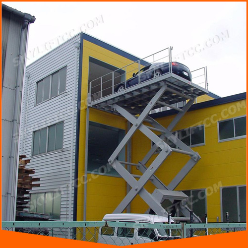 5m Hydraulic Electric Mobile Manual Scissor Car Lift pictures & photos