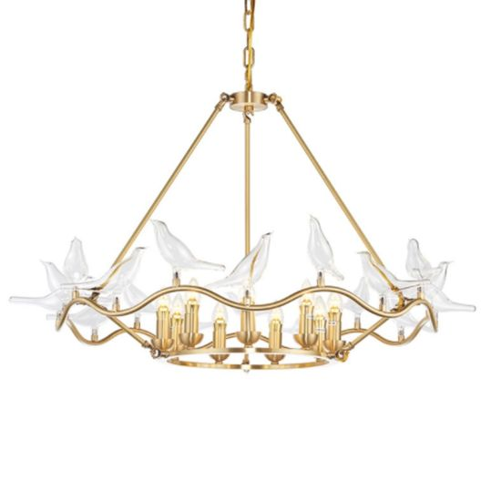 Luxury Crystal Bird Chandelier Pendant Light For Hotel China Led Lighting Modern Lamp Made In China Com