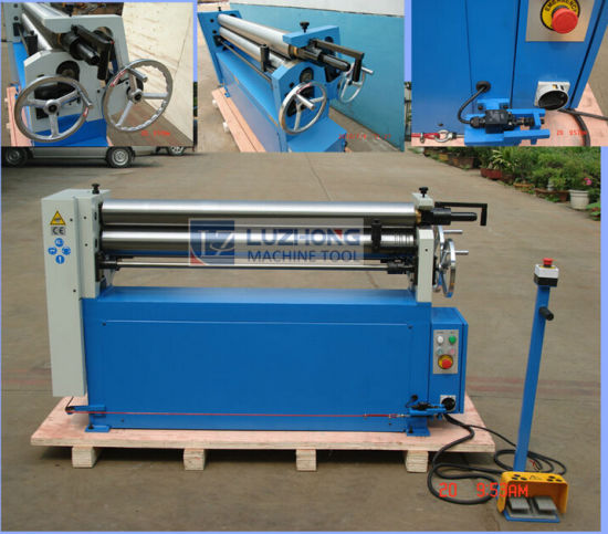 Plate Rolling Machine(ESR-1300X6.5 ESR-2070X2.5 ESR-2070X3.5 Electric Slip Roll Machine) pictures & photos