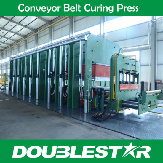 Presses for steel cord belts and textile conveyor belts pictures & photos