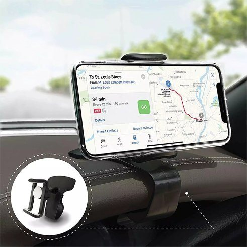 Snap Type Phone Bracket Car Mobile Phone Holder with Free Car Vent Phone Holder pictures & photos