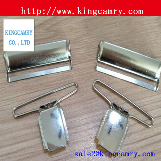 Metal Suspender Decor Buckle /Suspender Adjustable Buckle /Suspender Clips Buckles pictures & photos