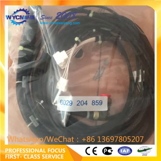 zf 4wg200 gearbox wire harness 6029204859 for wheel loader lg958l