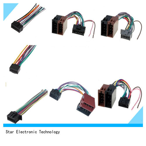 sony automotive audio wiring harness china factory price replacement jvc sony alpine kenwood auto radio  china factory price replacement jvc