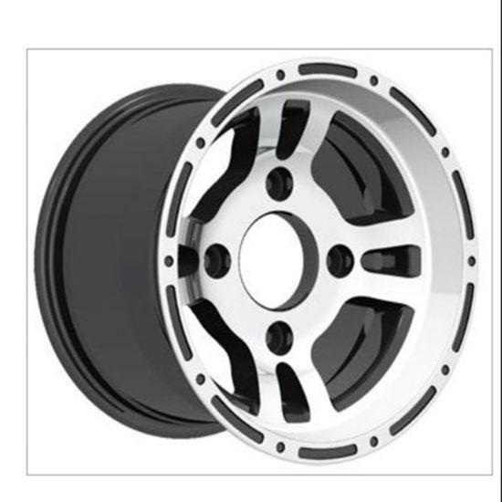 China 8 9 10 12 14 Inch Car Alloy Wheels Small Size Atv Utv Tralier Car Rims China Auto Parts Car Alloy Wheels Aluminum Rims