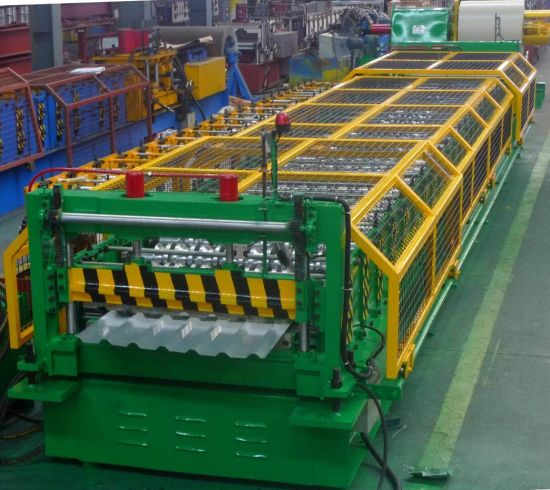 YX25-152-760 Trapezoidal Metal Roof Roll Forming Machine