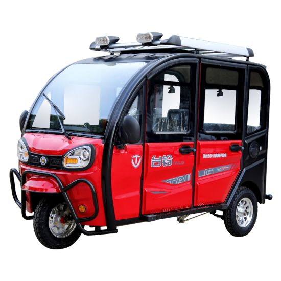 2019 New Arrival Passenger Electric Tricycle with MP3 and Radio