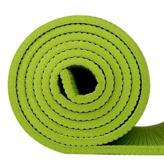 Customized Logo Colorful 4-10mm Thickness PVC Yoga Mat (10 regular colors and patterns)